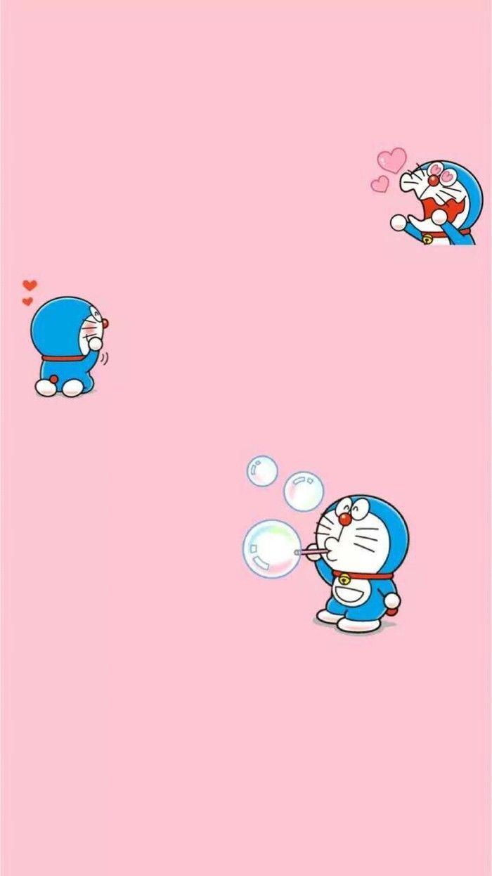 81 Wallpaper Gambar Doraemon Pink HD Paling Bagus Di 2020
