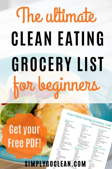 What s on your Clean Eating Grocery List