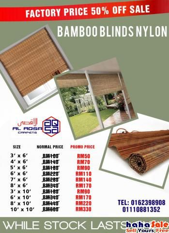 Outdoor Bamboo Blinds Malaysia Klang Malaysia 2017 Bamboo Blinds Blinds Cellular Blinds