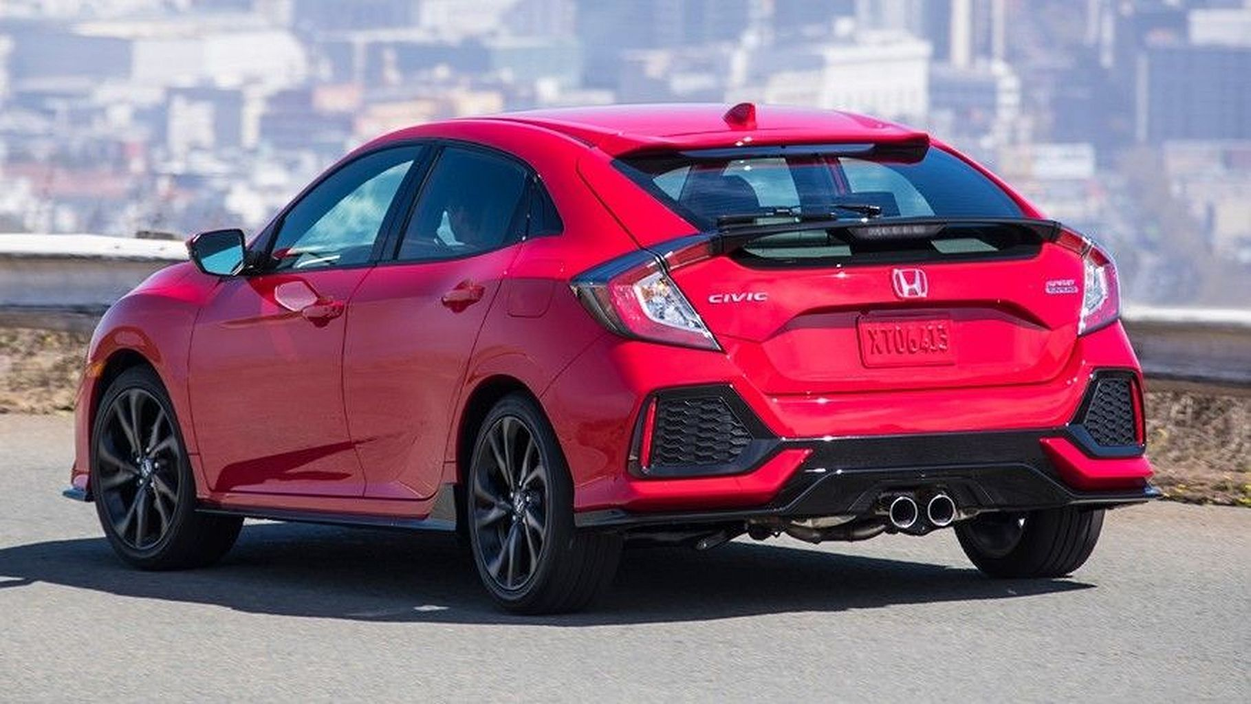 Display Cars Honda Civic Hatchback 2017 Honda civic