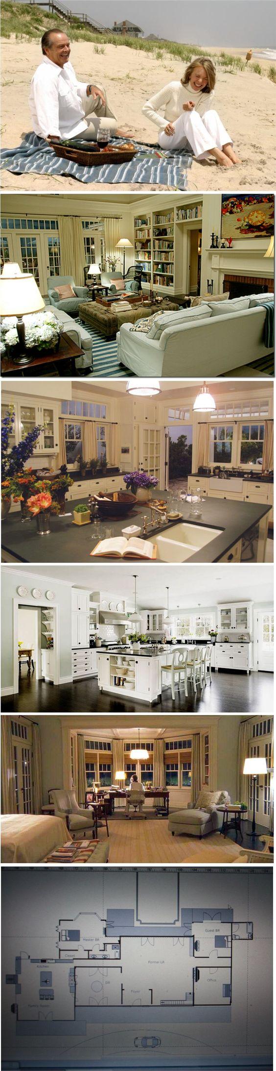 inspiration wohnen das haus aus dem film was das herz begehrt house ideas inspiration. Black Bedroom Furniture Sets. Home Design Ideas