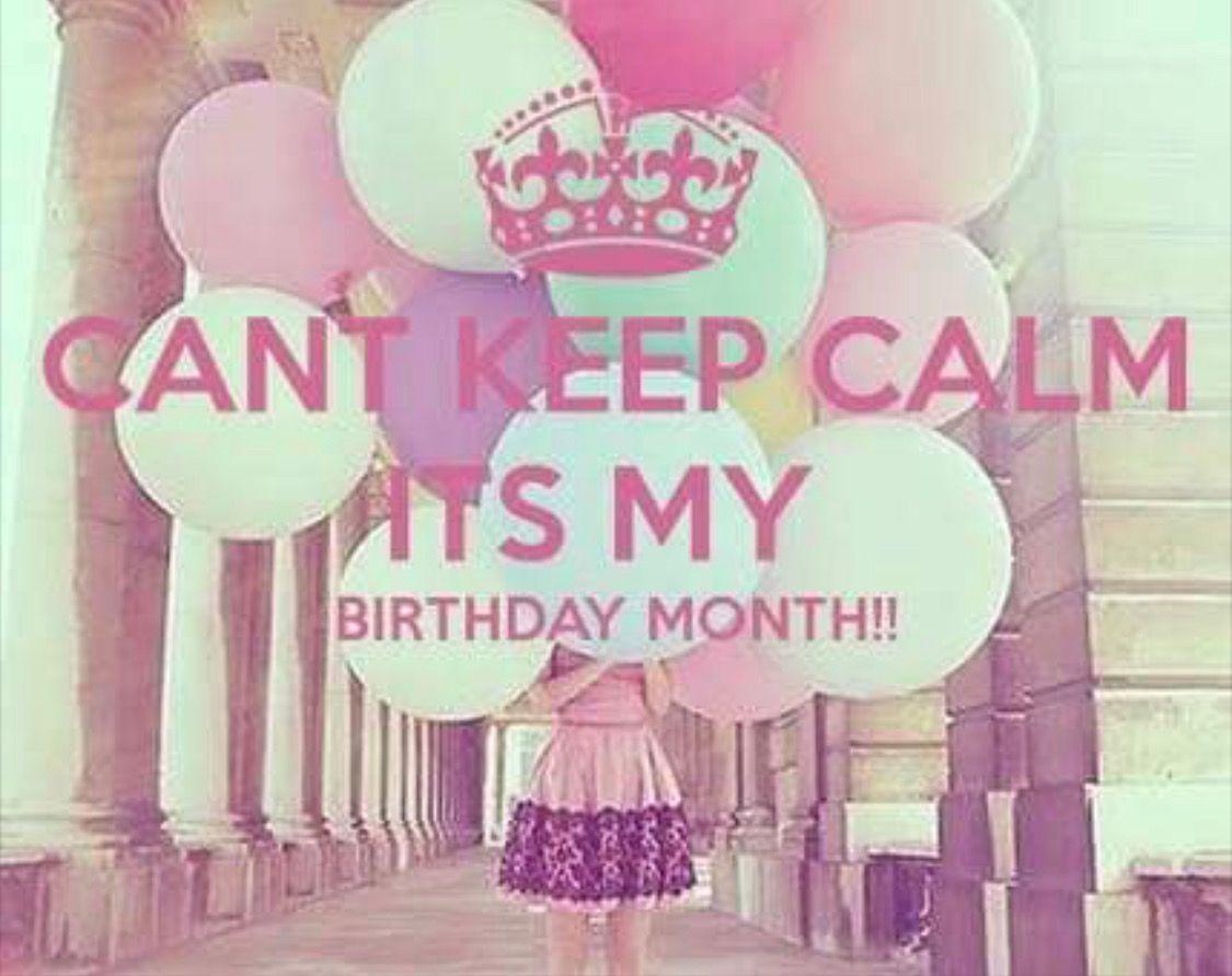birthdaymonthmeme birthdaymonthmeme Its my birthday