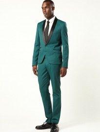 Topman Balsam Green Skinny Tux Suit   Modern bloke, formal ...