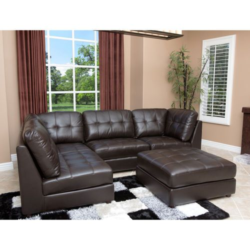 Calvin Top Grain Leather Modular Sectional Costco Ca Love That There Are Many Choices For Configuration