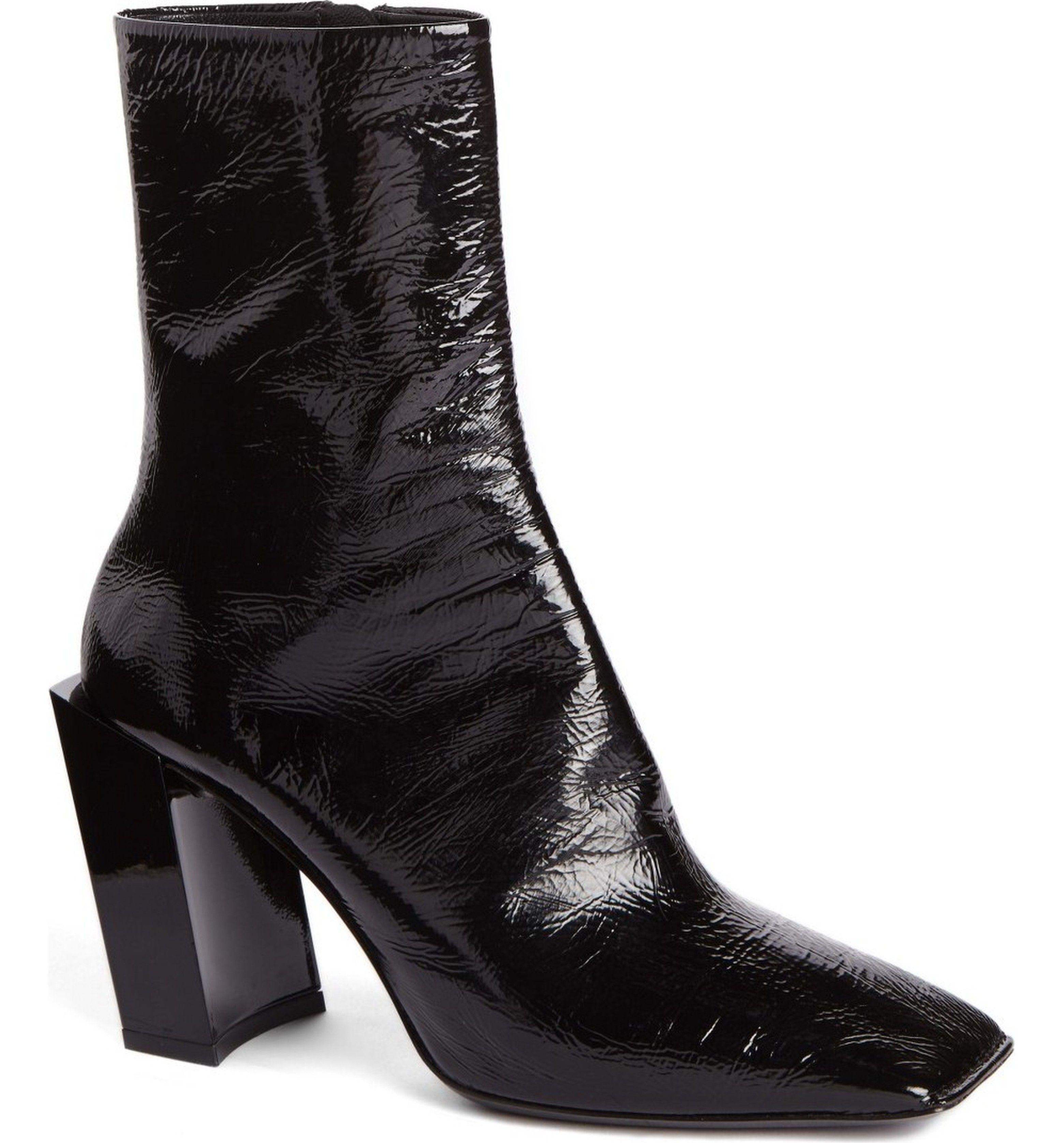 Balenciaga Square Toe Boot (Women