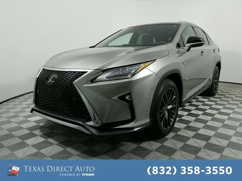 For Sale 2017 Lexus RX FSPORT 4dr SUV AWD Texas Direct
