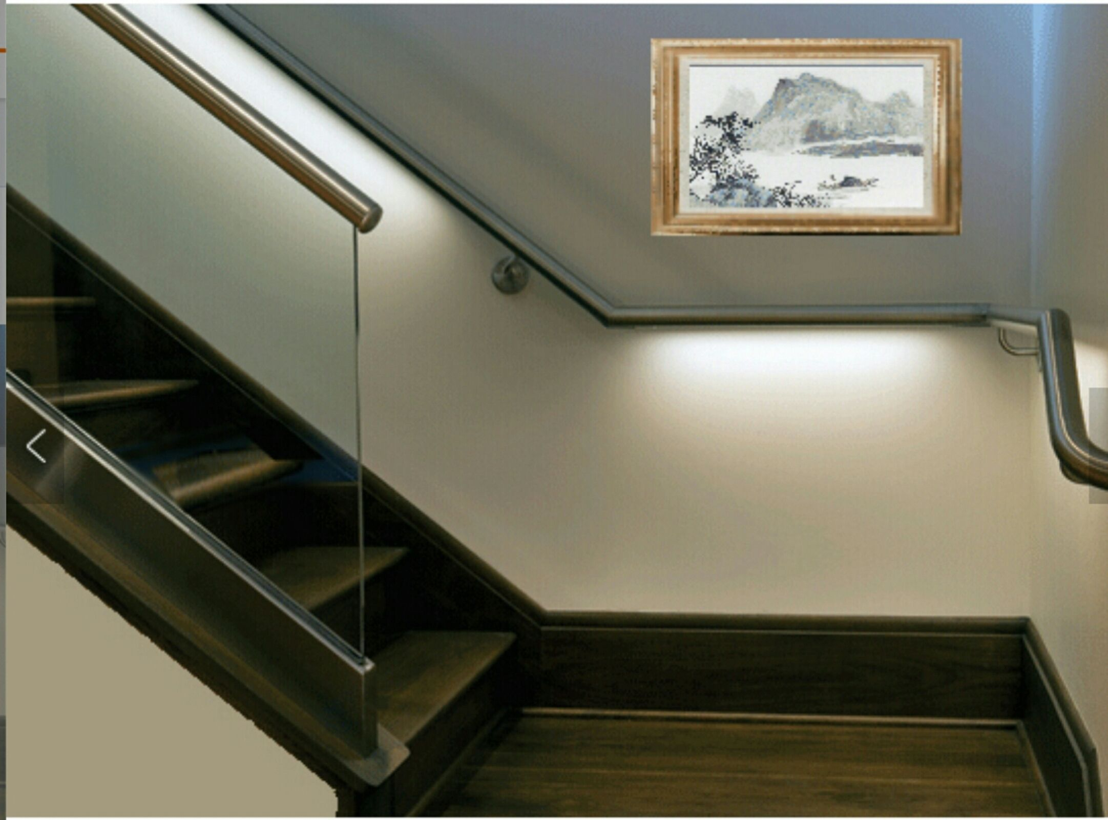 Rampe Led Rampe Led Ideas For The House Glass Handrail Glass Railing