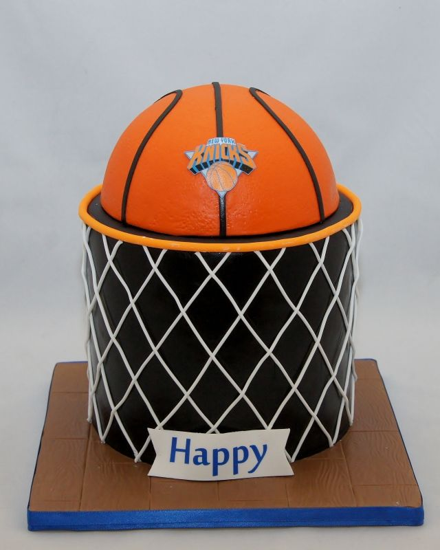 Basketball Net Birthday Cake 3D Cakes Pinterest Basketball