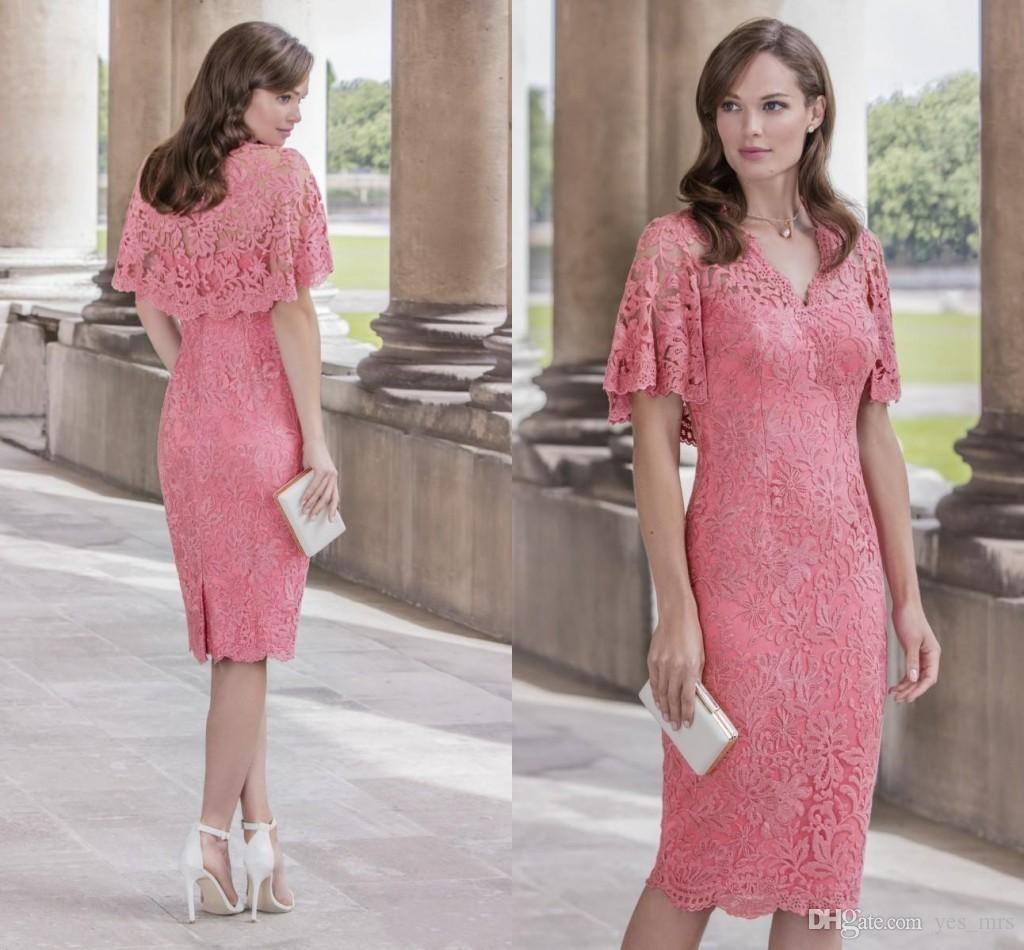 John Charles 2017 New Mother of the Bride Dresses V Neck Full Lace ...
