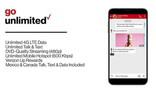 Verizon Cell Phone Plans For Seniors Verizon Go Unlimited Phone Plans Cell Phone Plans Phone