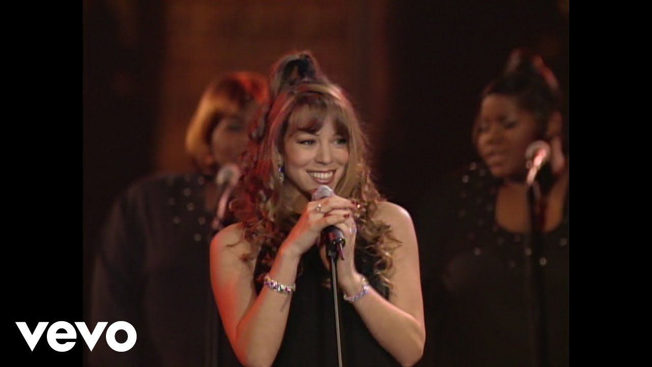 Mariah Carey All I Want For Christmas Is You Live At St John The Div Mariah Carey Mariah Carey