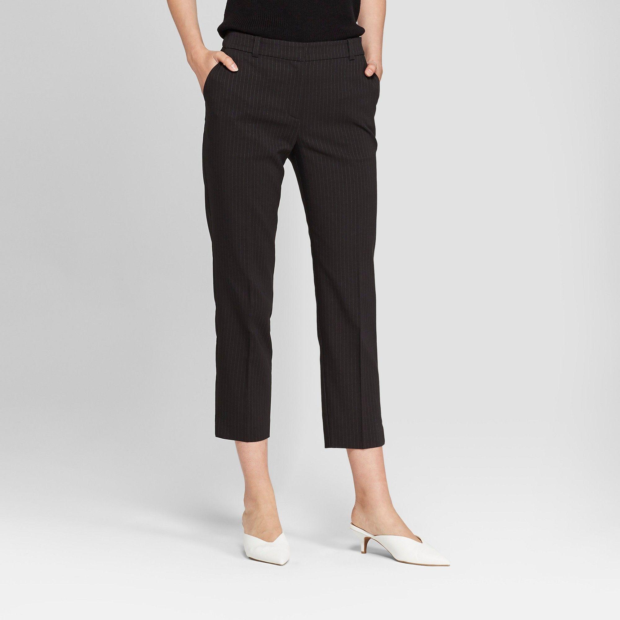 "eb8e7b708ac9f Women s Side Vent Pull-On Pencil Skirt - Prologueâ"" 20Brown M  Vent ..."