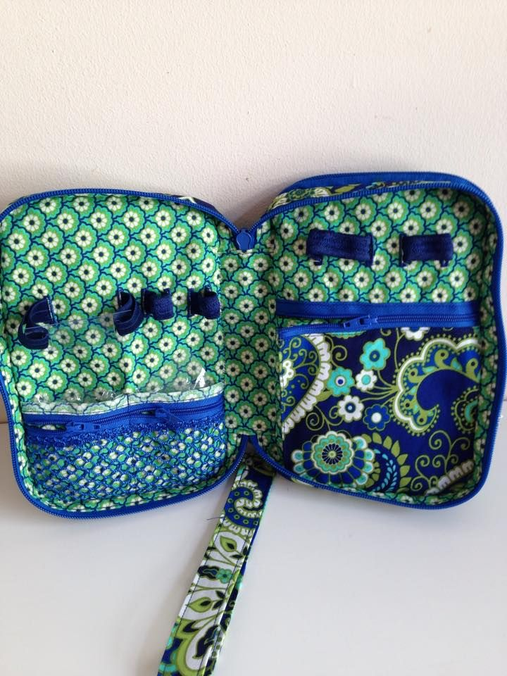 Vera Bradley print omnipod case interior | Type 1 Diabetes