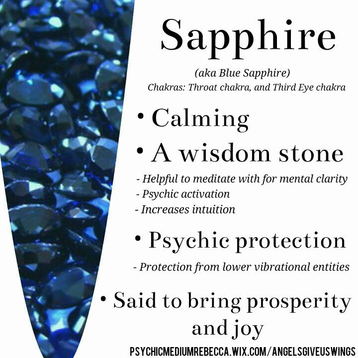 Sapphire Crystal Meaning Benefits Of Crystal