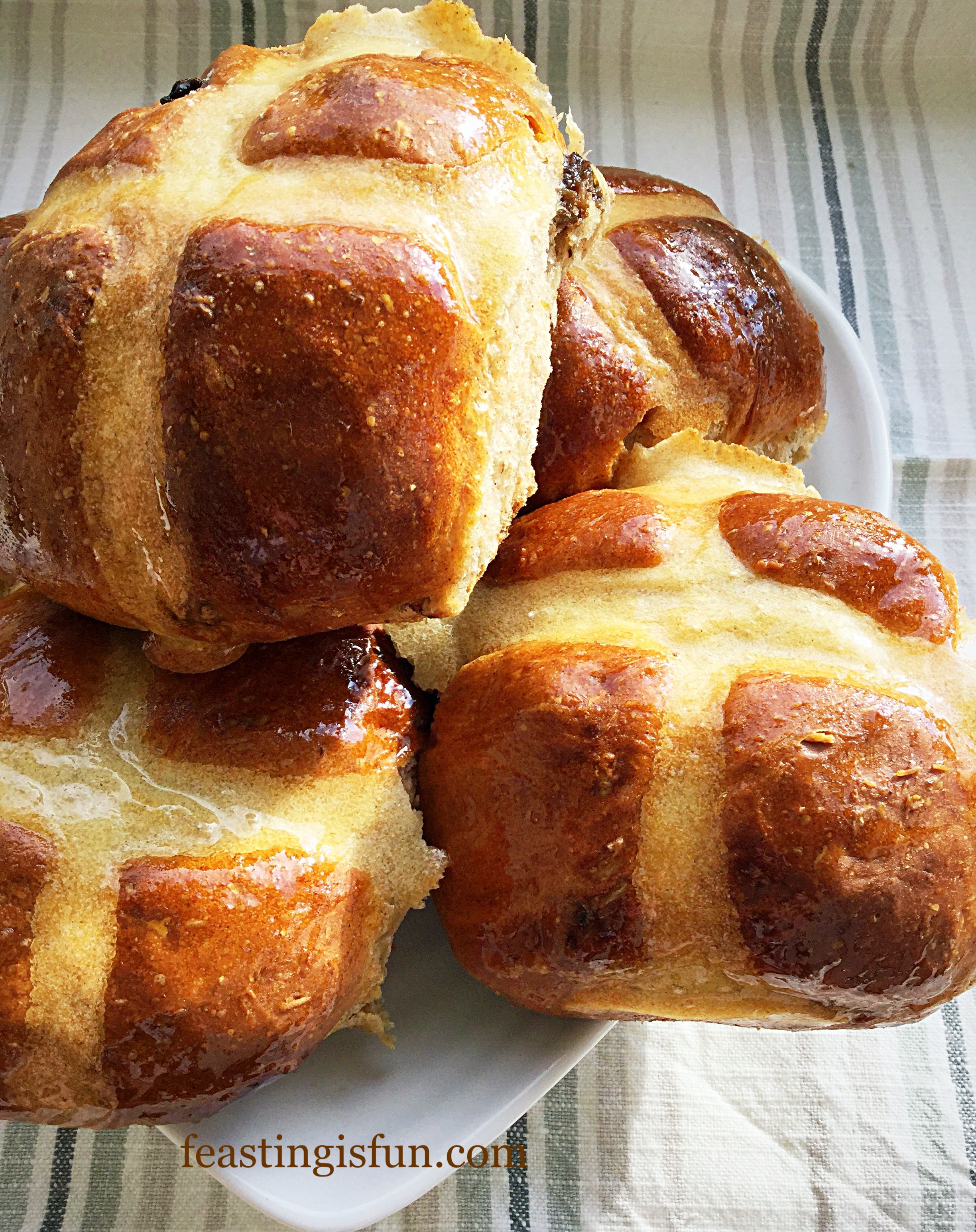 Extra Fruity Hot Cross Buns pack in even more plump vine fruits and spices. With a small addition of wholemeal flour these are a perfect breakfast or lunch.