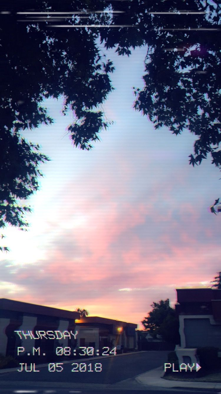 Aesthetic Sunset Snapchat Sunset Clouds Photography