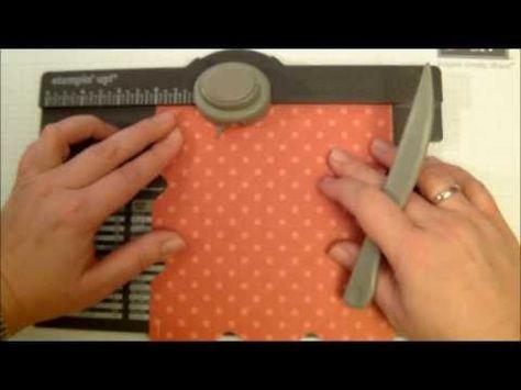 ▶ Tutorial - Herzbox mit Envelope Punch board - Stampin' Up! - YouTube