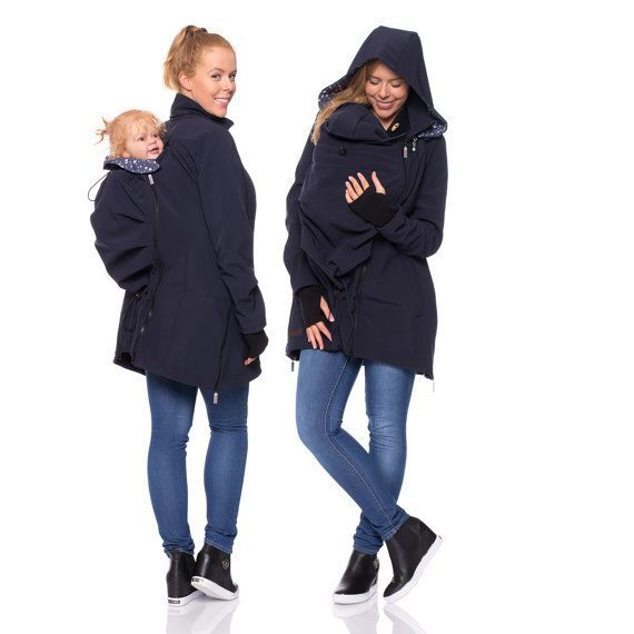 Viva la Mama | Brand New! The Softshell baby carrying jacket