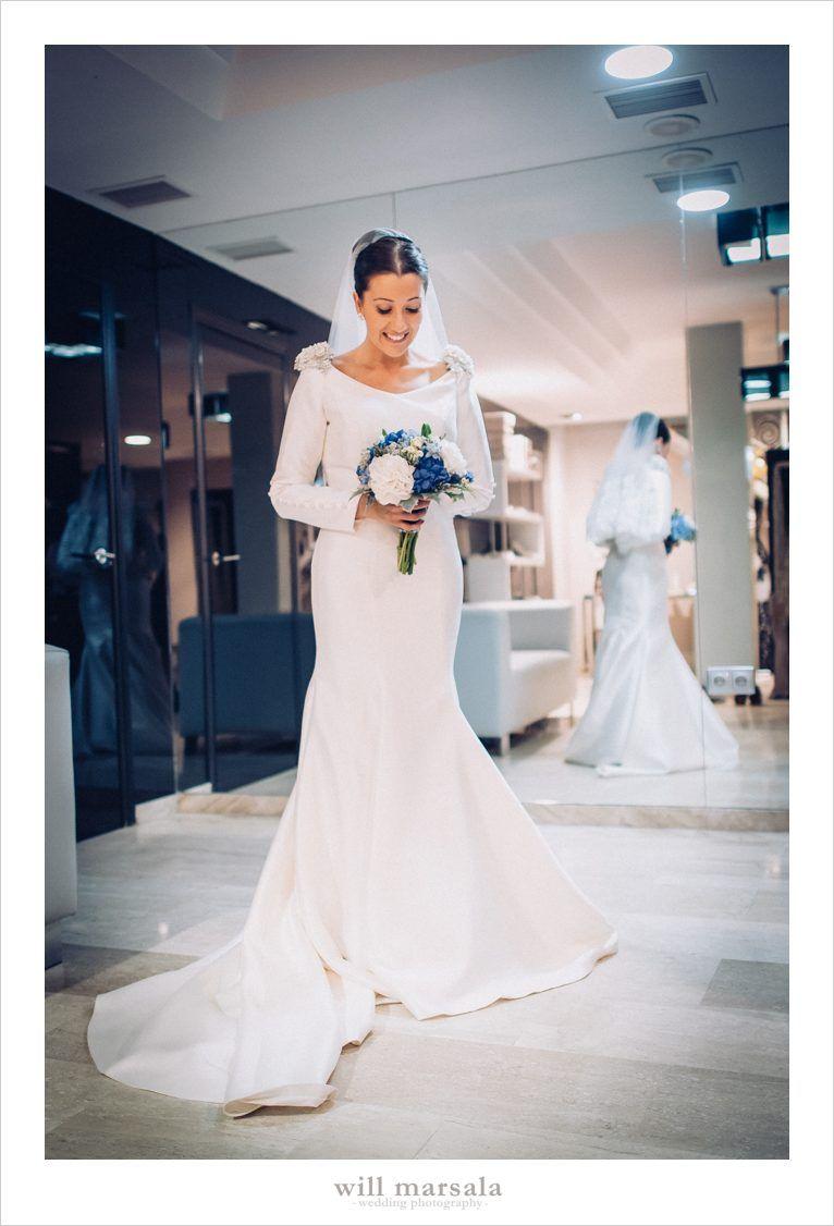 El vestido de Aroa - Will Marsala Wedding Photographer