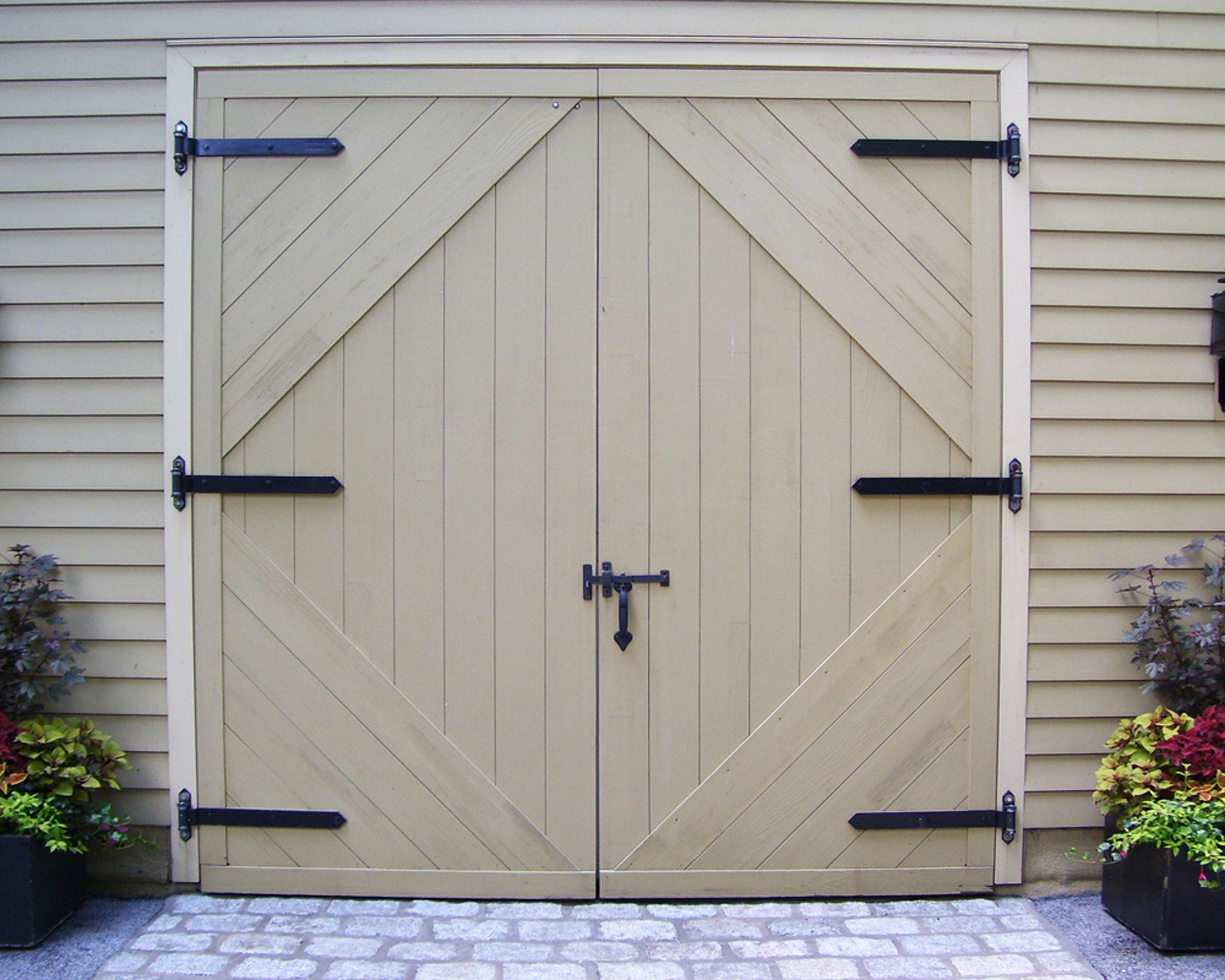 Selecting Heavy Duty Strap Hinges For Swinging Doors Garage Door