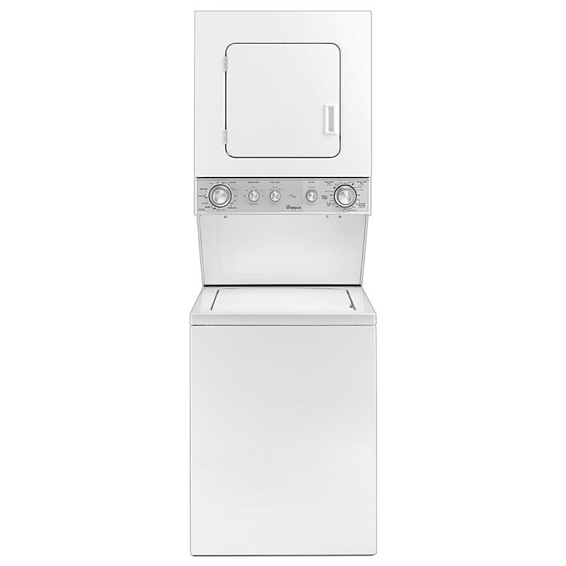 Whirlpool Wet4024ew Wet4024ew 24 Full Size Electric Stacked