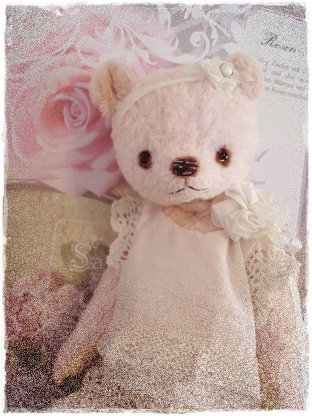 Schnittmuster für ein liebes Bärenmädel im Vintage Style, Größe 25 ...