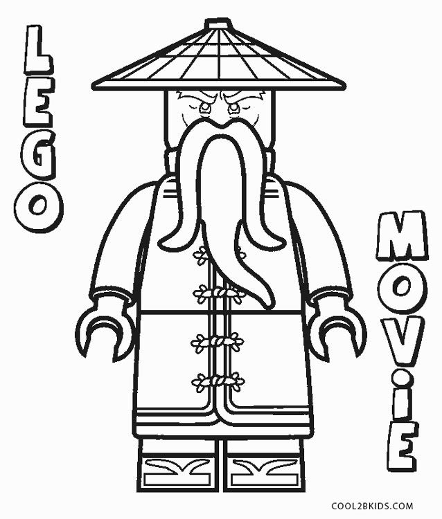 ninjago coloring pages in 2020