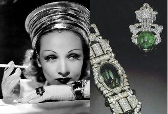 Marlene Dietrich Jewelry   marlene dietrich s jewelry collection dietrich wore her own jewelry in ...