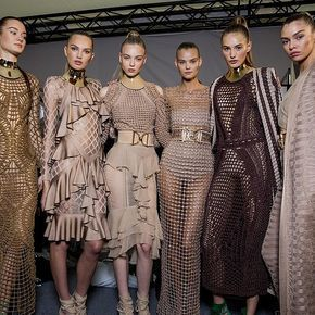 The Balmain Army Just Shut. It. Down. at Paris Fashion Week: Olivier Rousteing's Spring '16 Balmain debut wasn't just a runway show, it was an extravaganza.
