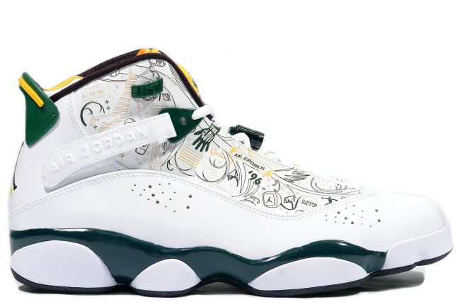 more photos 10845 bb13a 322992 102 Air Jordan 6 Rings Seattle Supersonics http   www.uxfoundry.