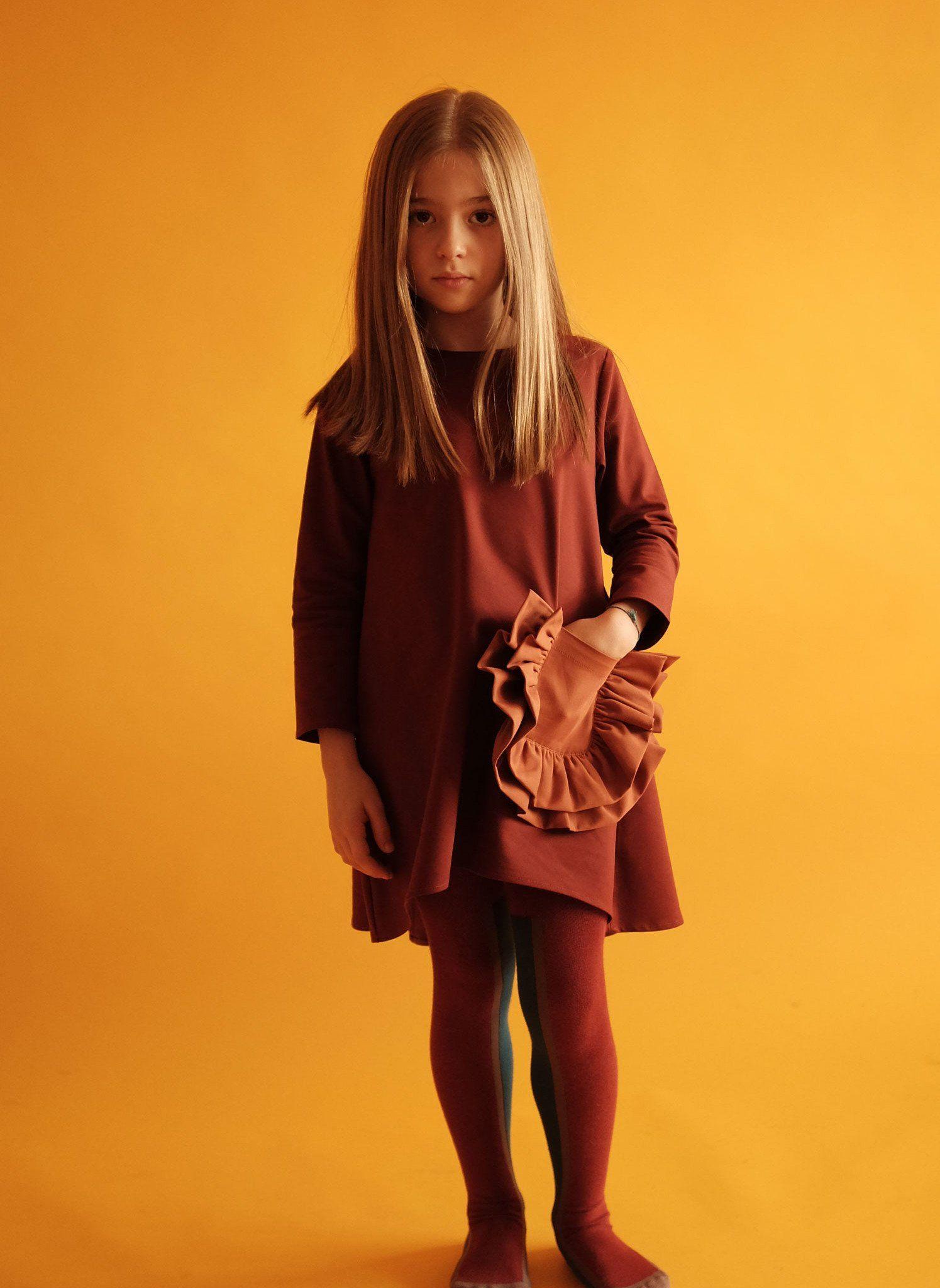Nina Claudia(Girls') -Brown Micro Suede View Discount Professional EeGKv4H