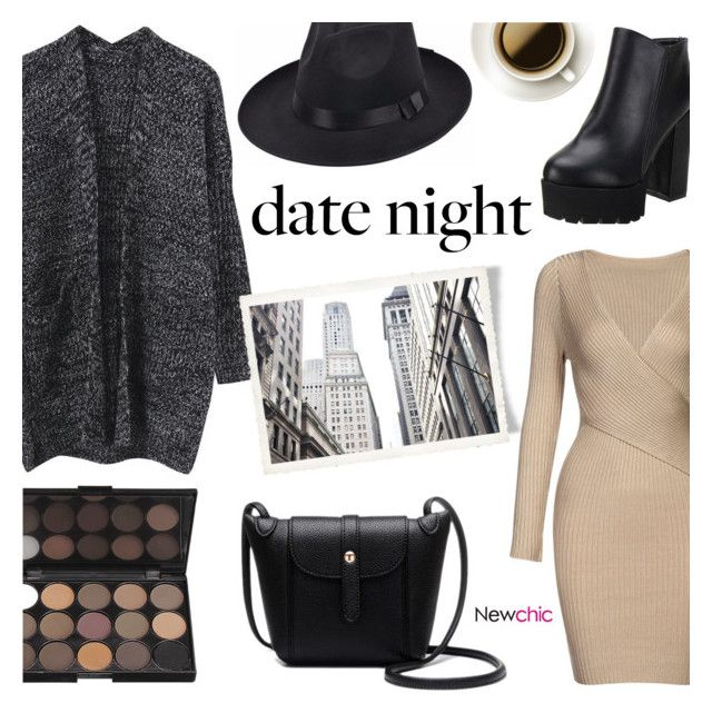 """Date Night ~ NewChic #2"" by alexandrazeres ❤ liked on Polyvore"