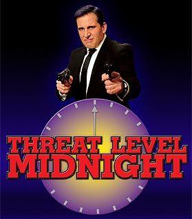 Threat Level Midnight Wikipedia The Free Encyclopedia The Office Show Office Jokes The Office Stickers