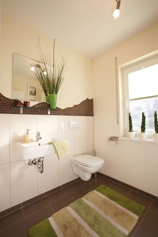 Fertighaus Wohnidee Badezimmer Gästebad Wohnen