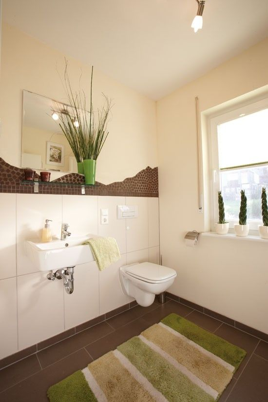 Fertighaus wohnidee badezimmer g stebad wohnideen for Wohnideen bad