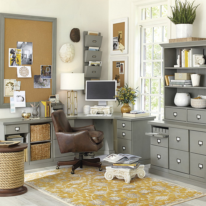 Original Home Office Corner Desk Addition Ballard Designs Cheap Office Furniture Corner Desk Office Home Office Decor