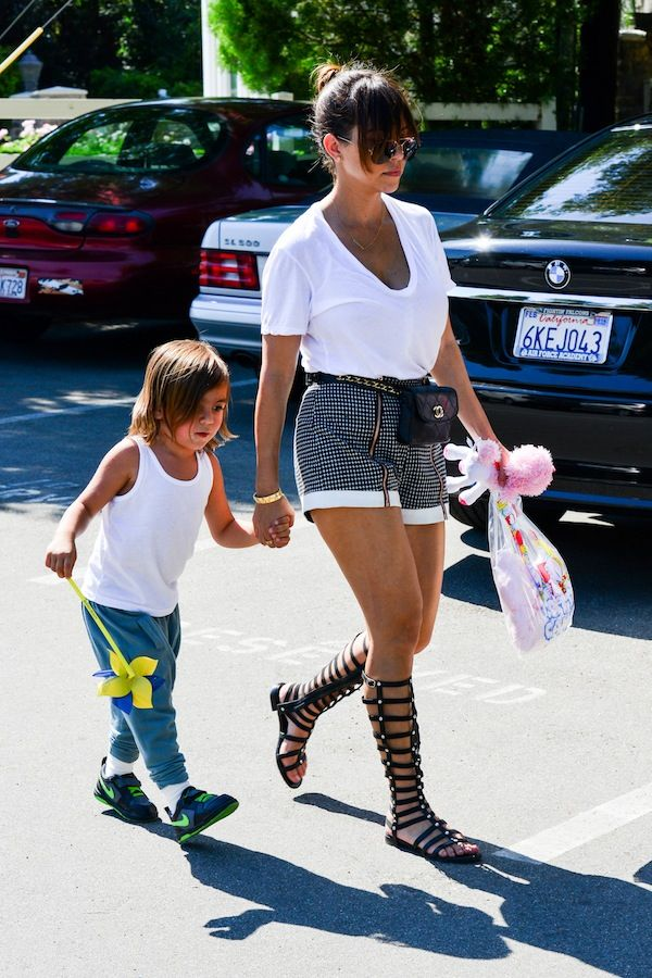 OBSESSED with Kourt's gladiator sandals!!!