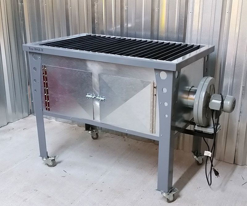 Downdraft Plasma Cutting Table