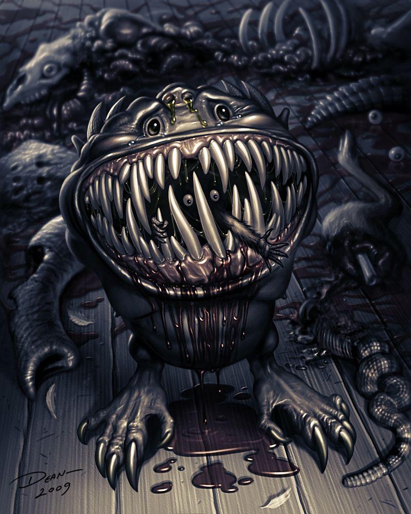 Horror Art Galleries Ark Big