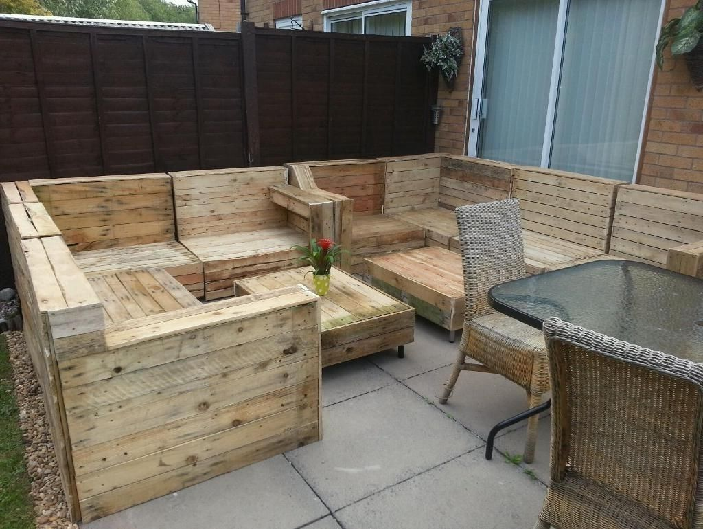 Garden Furniture Using Pallets pallet outdoor furniture plans outdoor furniture made from inside