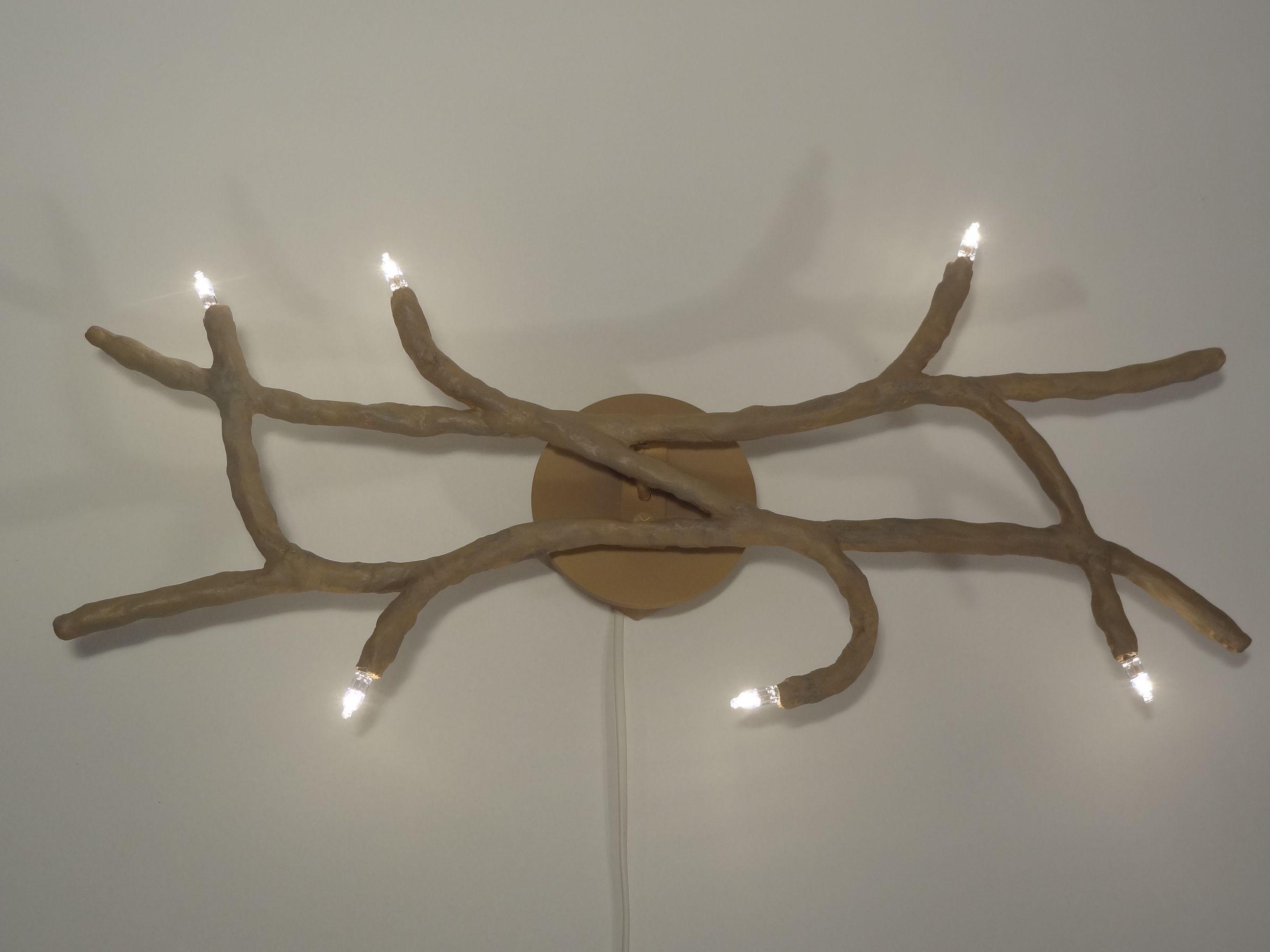 Branche du th me natur la structure m tallique - Applique murale platre ...