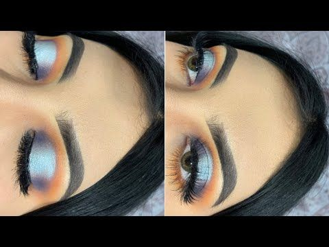 easy blue halo look 🦋 james charles palette  youtube