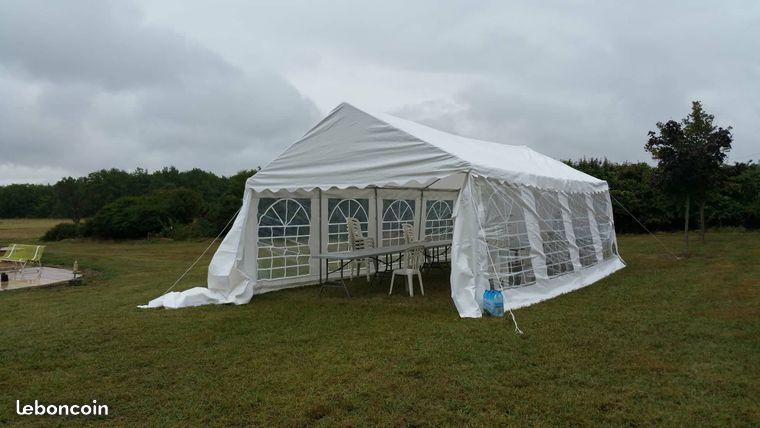 Loue Tente De Reception 8x4m Tente Reception Louer Mobilier Jardin