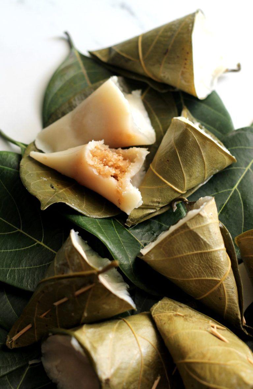 Idiyo - Sweet Rice Dumplings Steamed in Jackfruit Leaf ...