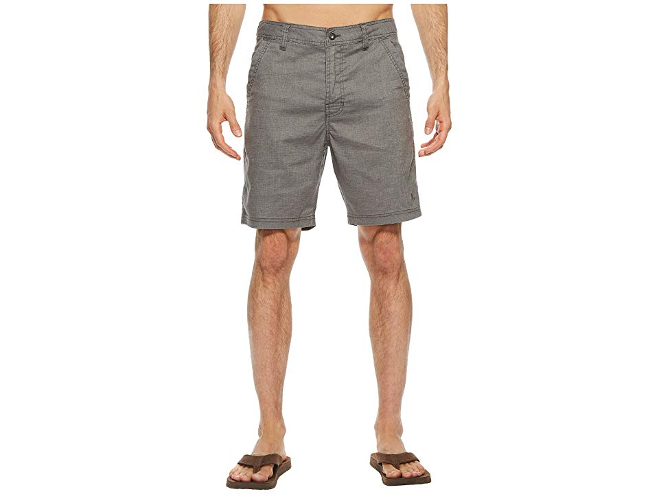 Prana Furrow 8 Short Gravel Mens Shorts Soft and durable the Furrow Short is perfect for day hikes and extended treks Standard fit skims the body with a slight contour Su...