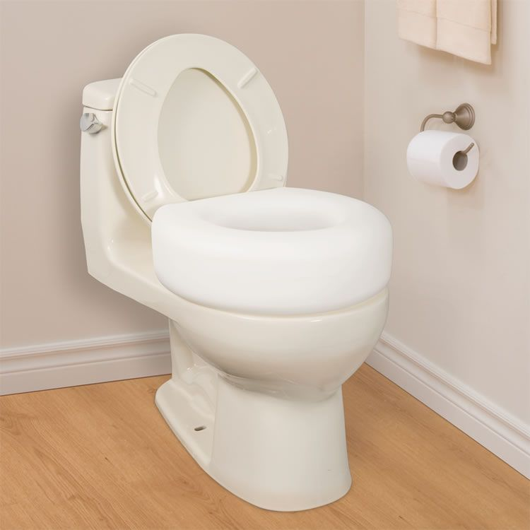 Handicap Bathroom Video On Facebook raised toilet seat #toiletsforseniors visit us for more tips at