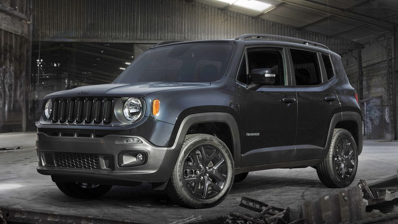 Jeep Unveils Renegade Dawn Of Justice Special Edition In The Us