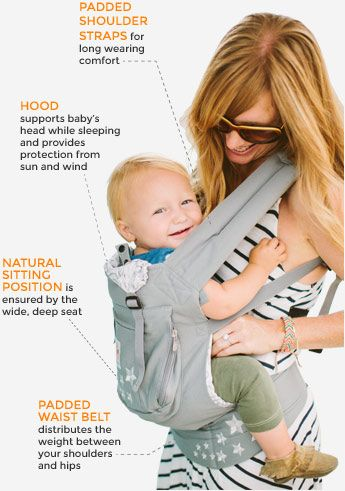 4f1a4a2766d Ergobaby Carriers soft-baby-carrier As much as I loved the ergo and the   selling point  that I could carry my child of up to 45 lbs. in this carrier