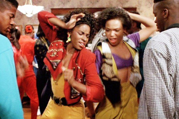 Aj Johnson And Tisha Campbell Recreating Their Iconic House Party Dance Scene Is An Epic Flashback Moment House Party Movie House Party Outfit Party Outfits For Women