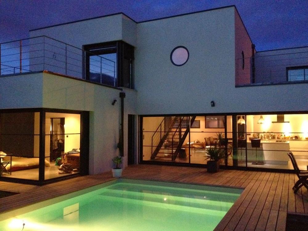 Maison Plan Plan Maison En U Avec Piscine Au Milieu 4 Plan Maison